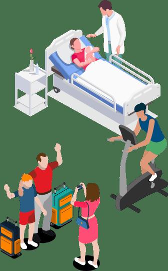 産休や旅行